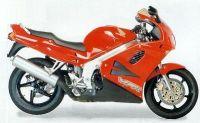 Honda VFR 750 1996 - Rote Version - Dekorset