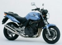 Honda CBF 600N 2006 - Hellblaue Version - Dekorset