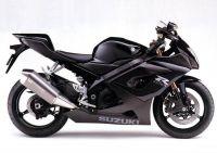 Suzuki GSX-R 1000 2005 - Schwarze Version - Dekorset