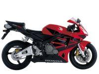 Honda CBR 600RR 2003 - Rote Version - Dekorset
