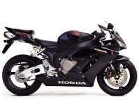 Honda CBR 1000RR 2005 - Schwarze Version - Dekorset