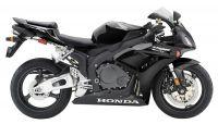 Honda CBR 1000RR 2006 - Schwarze Version - Dekorset