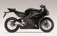 Honda CBR 1000RR 2014 - Schwarze Version - Dekorset