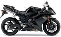 Yamaha YZF-R1 RN19 2008 - Schwarze Version - Dekorset