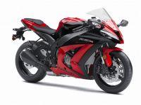 Kawasaki ZX-10R 2013 - Red ABS Version - Decalset