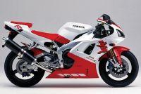 Yamaha YZF-R1 RN01 1998 - Weiß/Rot Version - Dekorset
