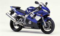 Yamaha YZF-R6 RJ03 2001 - Blaue Version - Dekorset