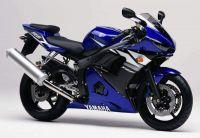 Yamaha YZF-R6 RJ05 2003 - Blaue Version - Dekorset