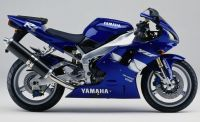 Yamaha YZF-R1 RN01 1999 - Blaue Version - Dekorset