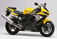 Yamaha YZF-R6 RJ05 2003 - Gelbe Version - Dekorset