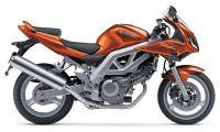 Suzuki SV 650S 2003 - Orange Version - Dekorset