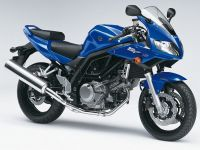 Suzuki SV 650S 2006 - Blaue Version - Dekorset