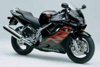 Honda CBR 600 F4 2000 - Schwarze Version - Dekorset
