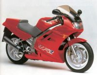 Honda VFR 750 RC36 1990 - Rote Version - Dekorset