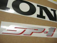 Honda VTR 1000 2000 - Rot/Schwarze Version - Dekorset