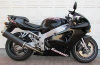 Kawasaki ZX-7R 1999 - Schwarze Version - Dekorset