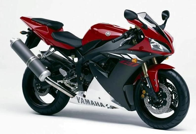 Yamaha Yzf R1 Rn09 2003 Red Version Decalset