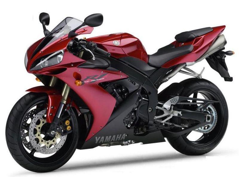 Yamaha Yzf R1 Rn12 2004 Red Version Decalset
