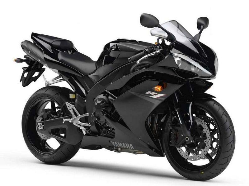 Yamaha Yzf R1 Rn19 2007 Black Eu Version Decalset