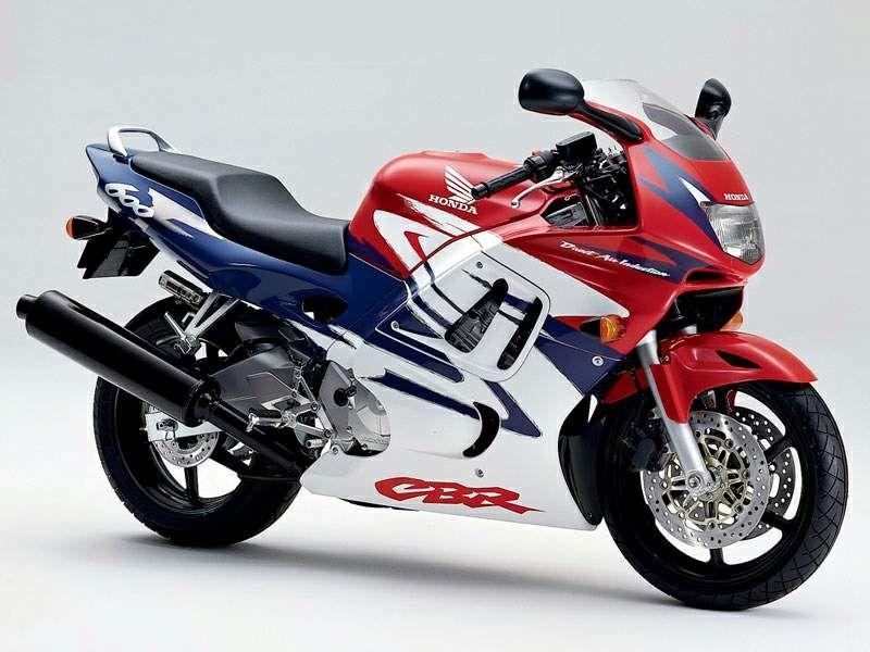 Honda Cbr 600 F3 1997 - Wei U00df  Rot  Lila Version