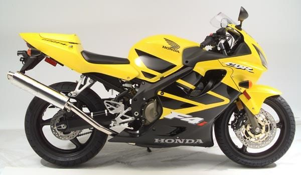 Honda CBR 600 F4i 2002 - Yellow/Black Version - Decalset