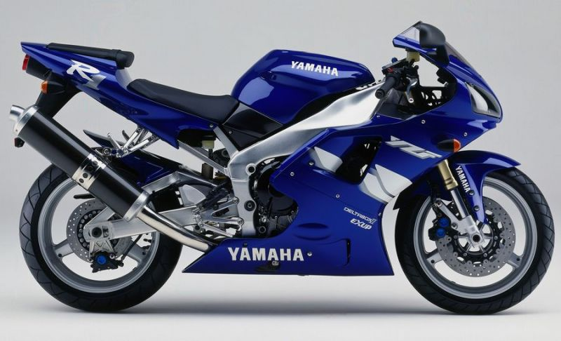 yamaha yzf r1 rn01 1999 blaue version dekorset. Black Bedroom Furniture Sets. Home Design Ideas