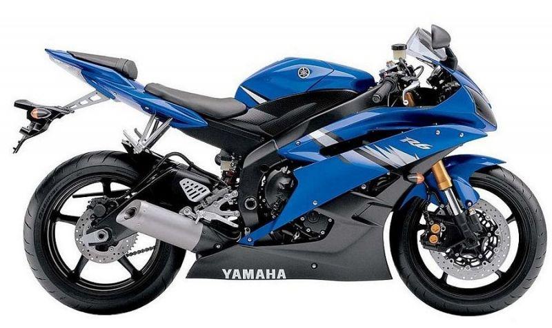 Yamaha YZF R6 RJ11 2006