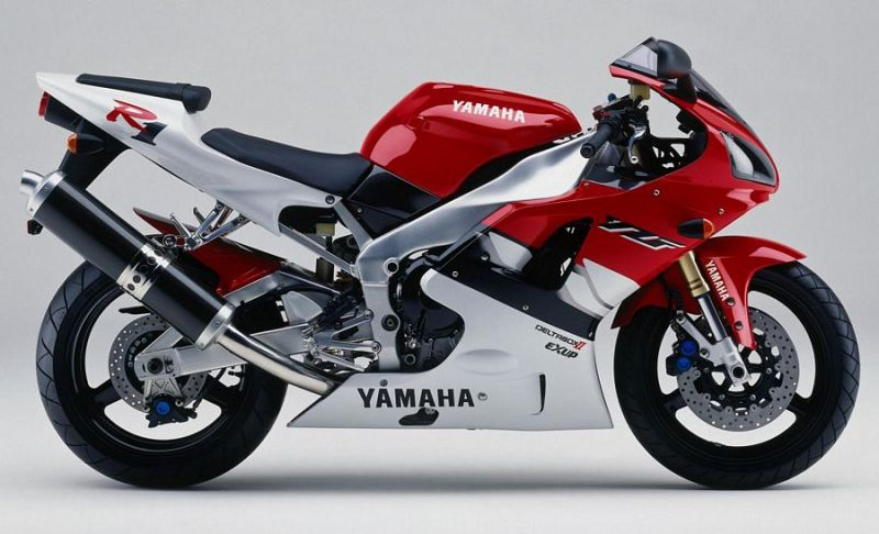 yamaha yzf r1 rn01 1999 rot wei version dekor. Black Bedroom Furniture Sets. Home Design Ideas