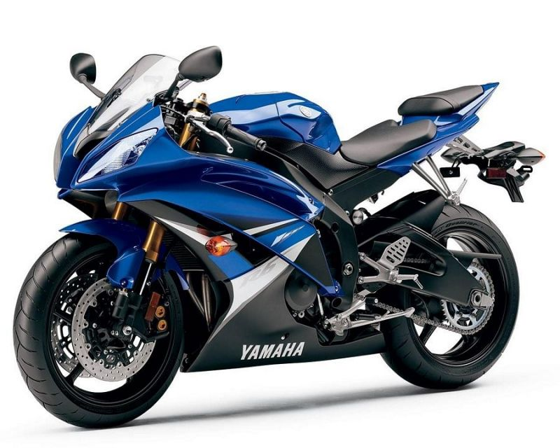 yamaha yzf r6 rj15 2008 blaue au version dekor. Black Bedroom Furniture Sets. Home Design Ideas