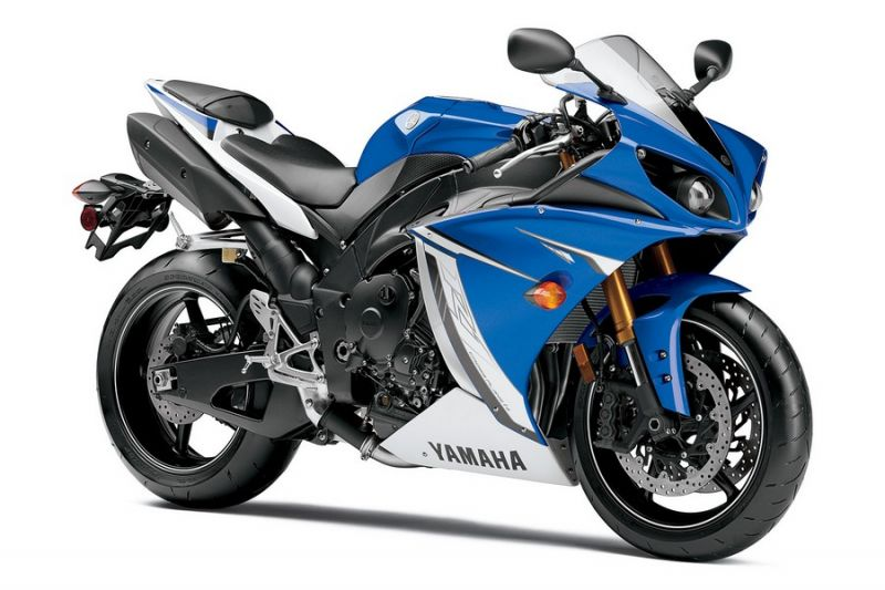 yamaha yzf r1 rn22 2011 blau schwarze version. Black Bedroom Furniture Sets. Home Design Ideas