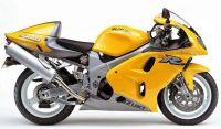Suzuki TL 1000R 2000 - Gelbe Version - Dekorset