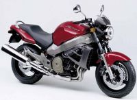 Honda X11 2000 - Rote Version - Dekorset