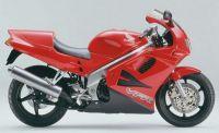 Honda VFR 750 1994 - Rote Version - Dekorset