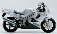 Honda VFR 750 1994 - Silver Version - Decalset