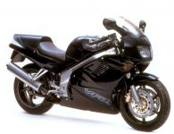 Honda VFR 750 1995 - Schwarz Version - Decalset