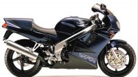 Honda VFR 750 1996 - Darkblue Version - Decalset
