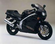 Honda VFR 750 1997 - Black Version - Decalset