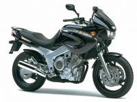 Yamaha TDM 850 4TX 2001 - Schwarze Version - Dekorset