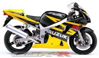 Suzuki GSX-R 600 2003 - Gelb/Schwarze Version - Dekorset