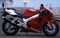 Kawasaki ZX-7R 1998 - Rote Version - Dekorset