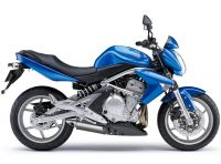 Kawasaki ER-6N 2008 - Blaue Version - Dekorset