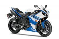Yamaha YZF-R1 RN22 2014 - Weiß/Blaue Version - Dekorset