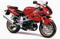 Suzuki TL 1000S 1997 - Rote Version - Dekorset
