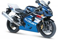 Suzuki GSX-R 600 2004 - White/Blue Version - Decalset