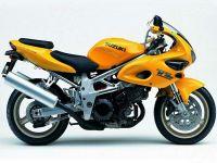 Suzuki TL 1000S 1999 - Gelbe Version - Dekorset