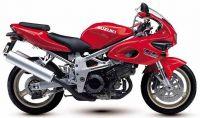 Suzuki TL 1000S 2000 - Rote Version - Dekorset