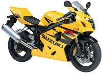 Suzuki GSX-R 600 2004 - Gelb/Schwarz Version - Dekorset
