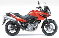 Suzuki DL650 V-STROM 2005 - Rote Version - Dekorset