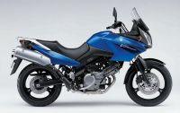 Suzuki DL650 V-STROM 2006 - Blaue Version - Dekorset