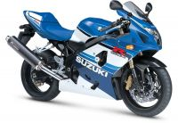 Suzuki GSX-R 600 2005 - 20th Anniversary Version - Dekorset